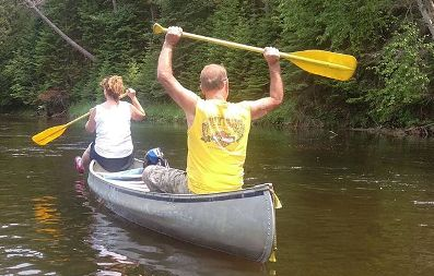 Au Sable River Canoe Rental: Hale, MI at Rollway Resort