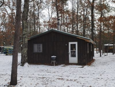 Small Au Sable River Cottage Rentals: Rollway Resort, Hale MI