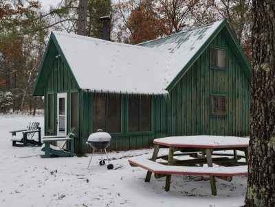 Large AuSable River Cottage for Rent: Rollway Resort