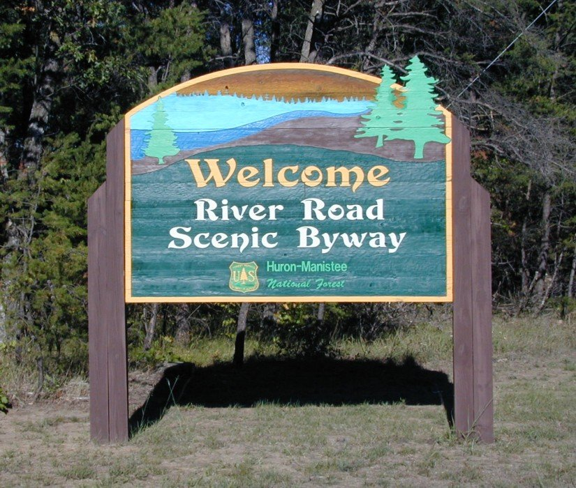 Huron Forest River Road Scenic Byway