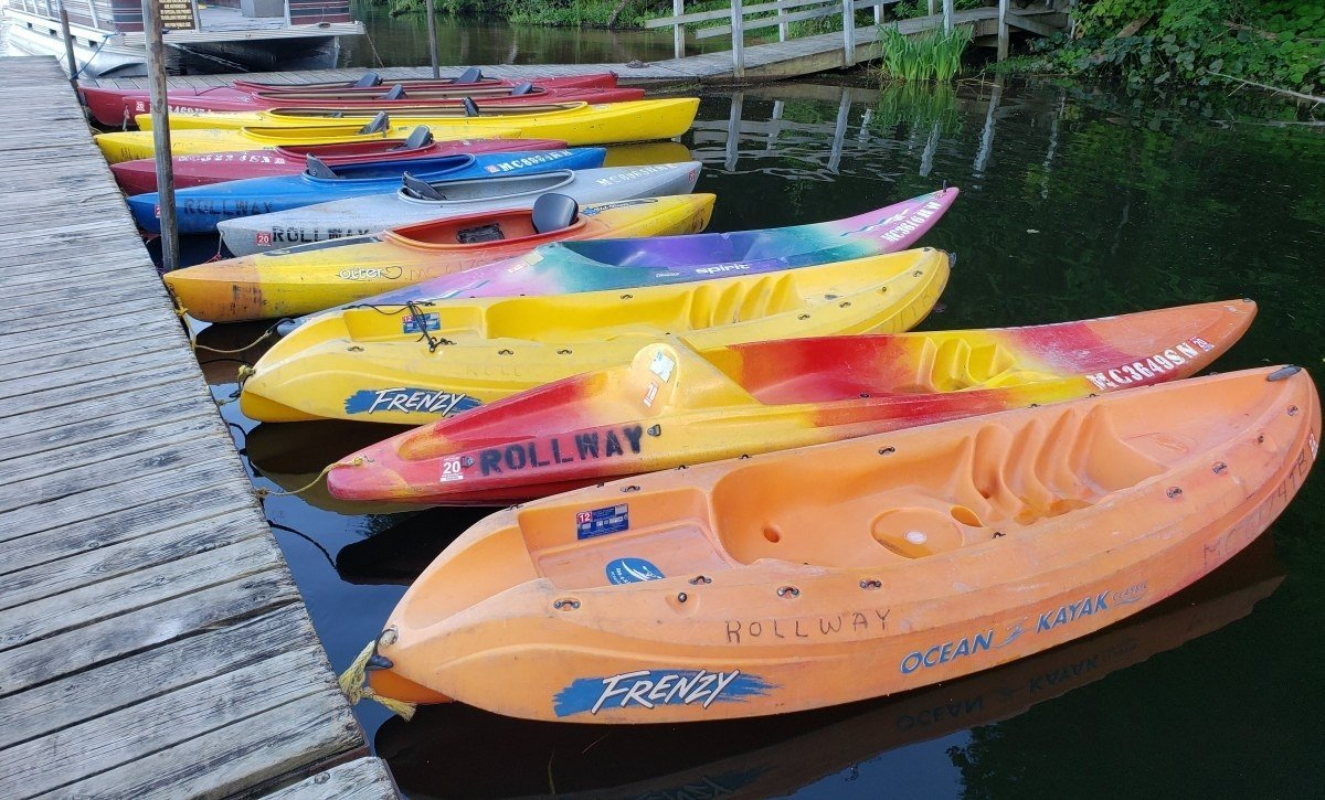 Au Sable River Resort Kayak Rentals: Hale, Michigan