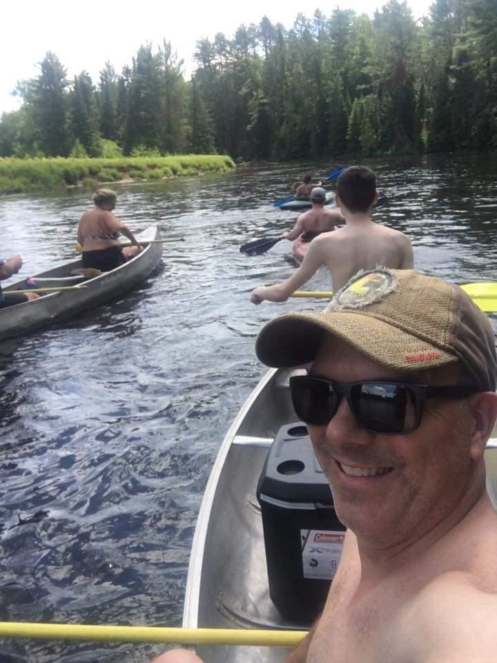 Family Fun: Au Sable River Canoe Trips, Rollway Resort