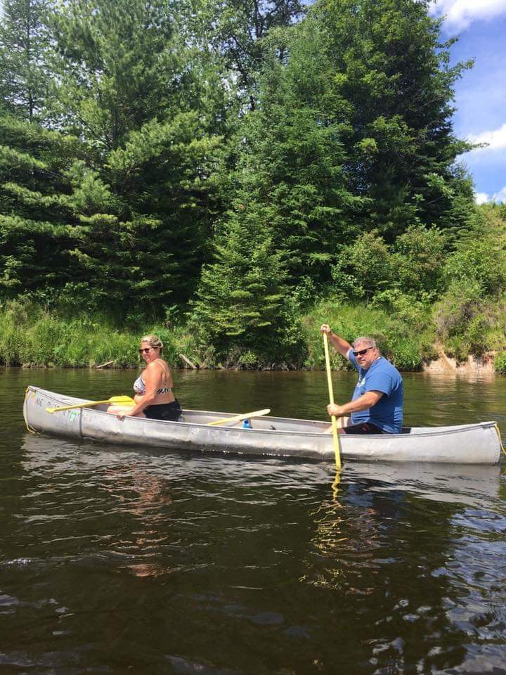 Gorgeous Scenery: Au Sable Canoeing at Rollway Resort