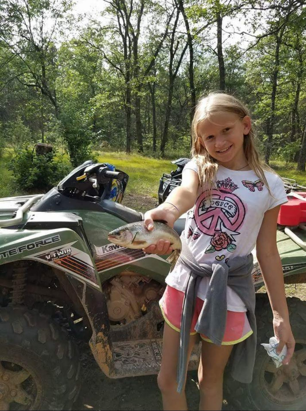 Kids Love Fishing! Au Sable River Vacations at Rollway Resort