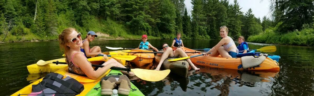 River Trips: Au Sable Kayak Rentals at Rollway Resort