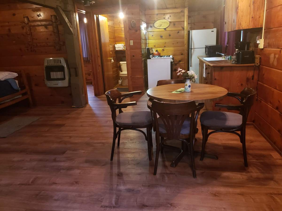 Rustic Cabin for Rent – Au Sable River, Rollway Resort