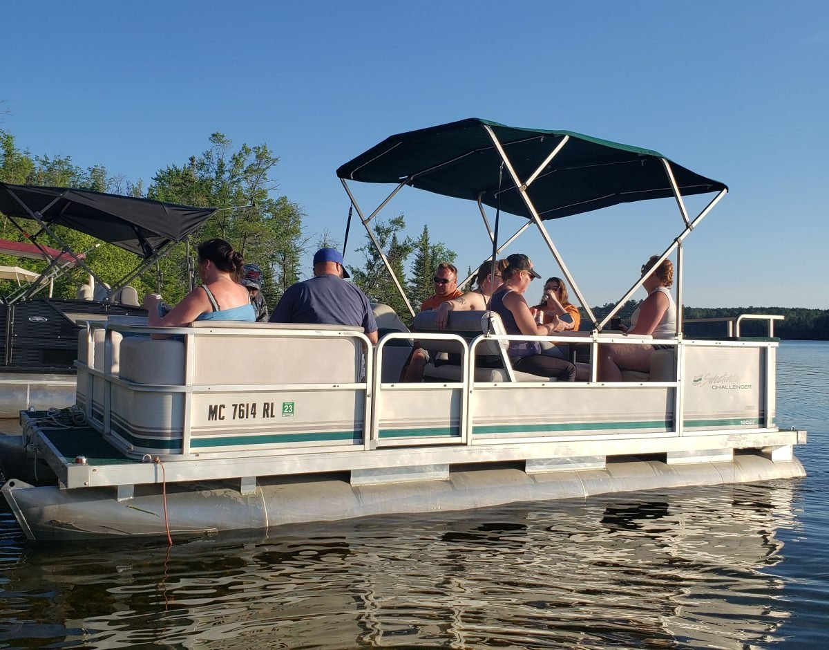 Need A Party Barge? Pontoon Rentals - Rollway Resort, Hale MI
